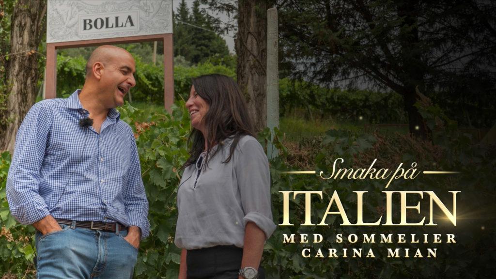 Smaka på Italien – Avsnitt 1. Bolla, Amarone & den hemliga restaurangen