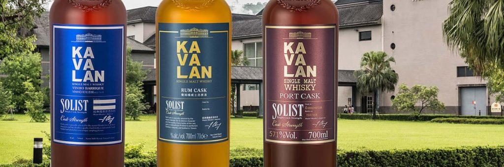 Tre nya produkter från Kavalan – Whisky från Taiwan