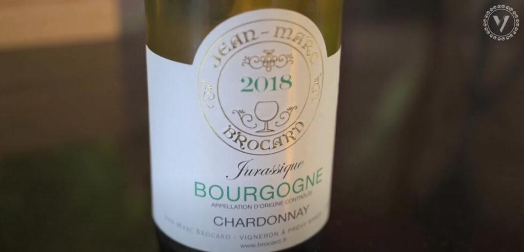 Bourgogne Blanc Jurassique J M Brocard