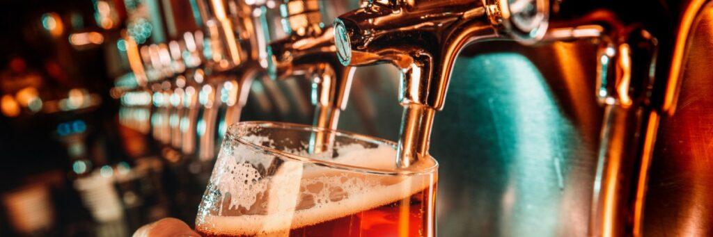 Stor andel av den öl som säljs på Systembolaget är från en svensk producent