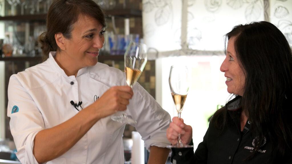 Vin & Mat: Carpaccio med Alexandra Zazzi
