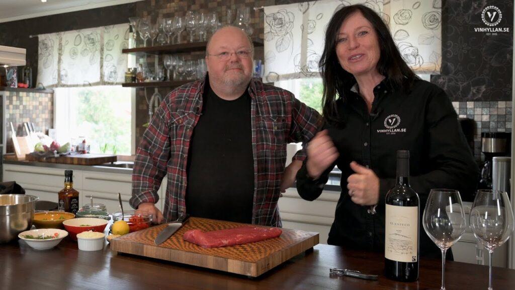 Vin & Mat med Kalle Moraeus