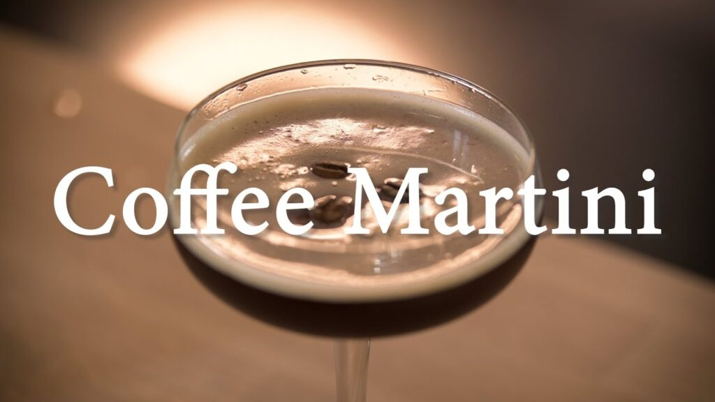 Coffee Martini / Espresso Martini med en twist