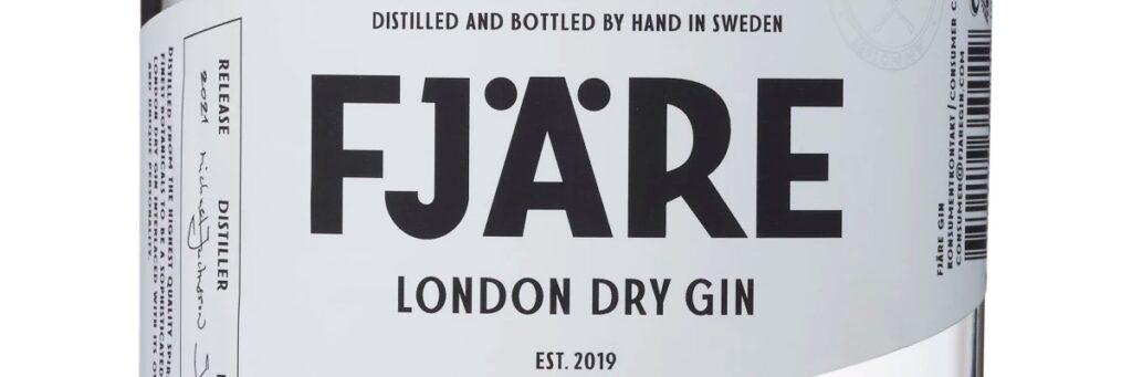 Ny gin från Fjärö Distillery