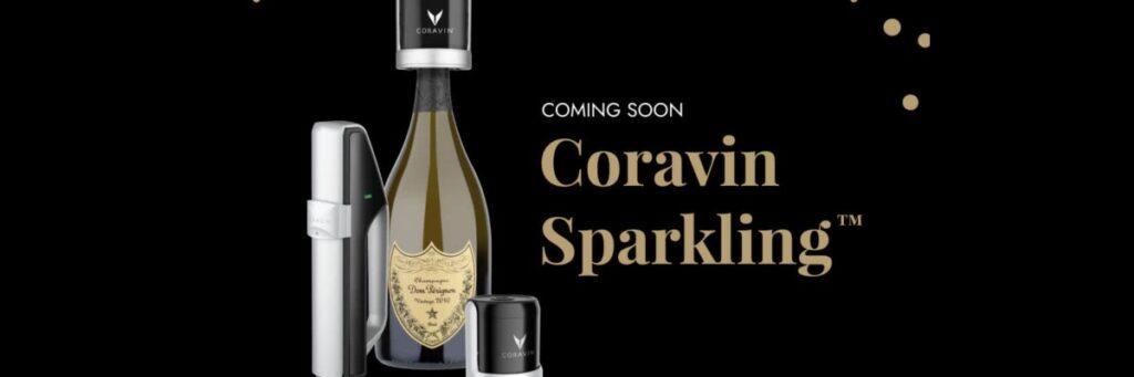 Coravin släpper en ny produkt som bevarar kolsyran i ett mousserande vin